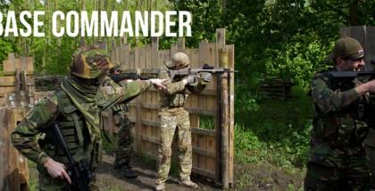 Base commander bij Balls and Arrows
