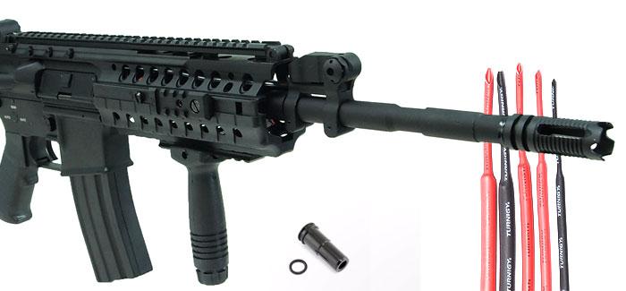 Aanschaf en upgrade Dboys M4 full metal RIS