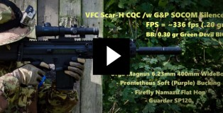VFC Scar-H WideBore Gameplay
