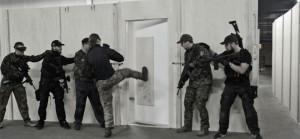 Airsoft - Running The Target - Breach door