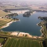 Kings forest is het kleinere veldje aan de overkant van de weg, het gehele complex is Kings County (85 ha incl. water).